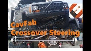 CavFab CrossOver Steering Install