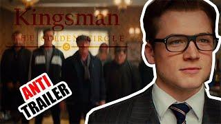 Кингсман 2  Золотое кольцо (Антитрейлер трейлер по-русски) Kingsman 2 The Golden Circle Antitrailer