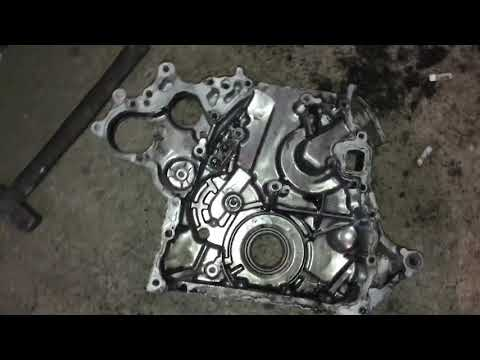 Фото к видео: Замена цепи ГРМ двигателя 4м41 на Мицубиси поджеро. Почему надо глушить клапан ЕГР на дизели