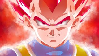 Dragon ball Super Movie Broly # Vegeta turn Super sayian GoD Red hair