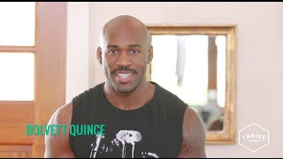 How to Sneak in A Workout at Your Desk with Dolvett Quince