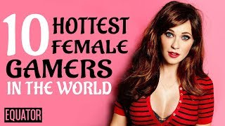 Top 10 Hottest Female Gamers In The World | 10 Hottest Gamer Girls | 10 Hottest YouTube Gamers
