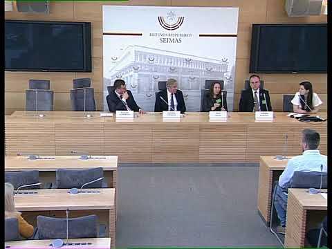 2019-04-29 Seimo narių A. Ažubalio ir L. Kasčiūno spaudos konferencija