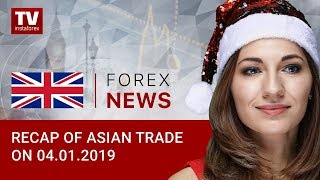 InstaForex tv news: 04.01.2019: Investors foresee grim prospects for USD