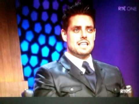 Jay and Keith Duffy on the Late Late Show