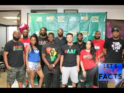 """Let's Talk Facts"" Live 3-26-17 Featuring A.A.C. (African Action Commission)"