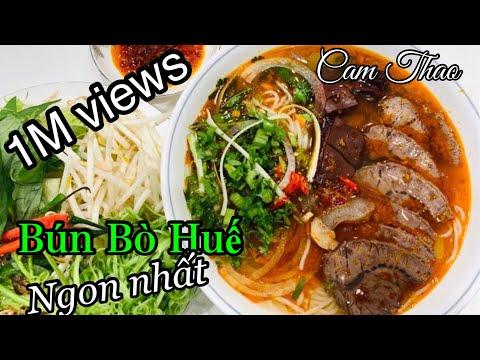 CT 33- Bún Bò Huế - Cách nấu của Mạ người Huế ngon không thể cưỡng được-Spicy VN Beef noodle soup.