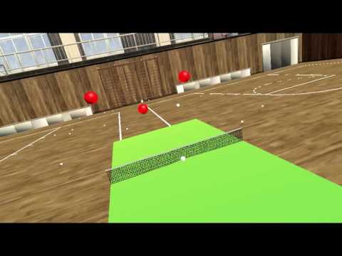 VR Pong Waves - HTC Vive Virtual Reality Ping Pong