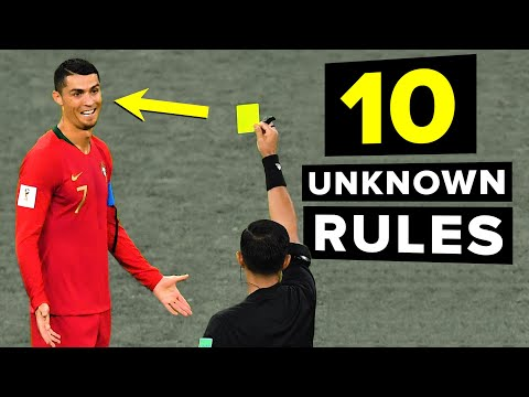10 Football Rules You DIDN'T KNOW Existed!
