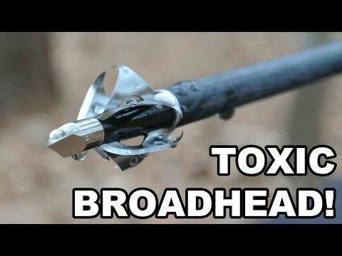 TOXIC Broadhead! Flying Arrow Archery's 6-Bladed Innovation