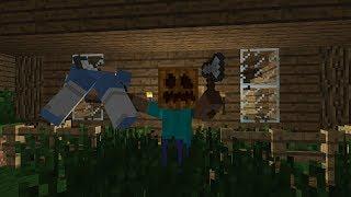 сериал Minecraft-[местный маньяк]-1 серия