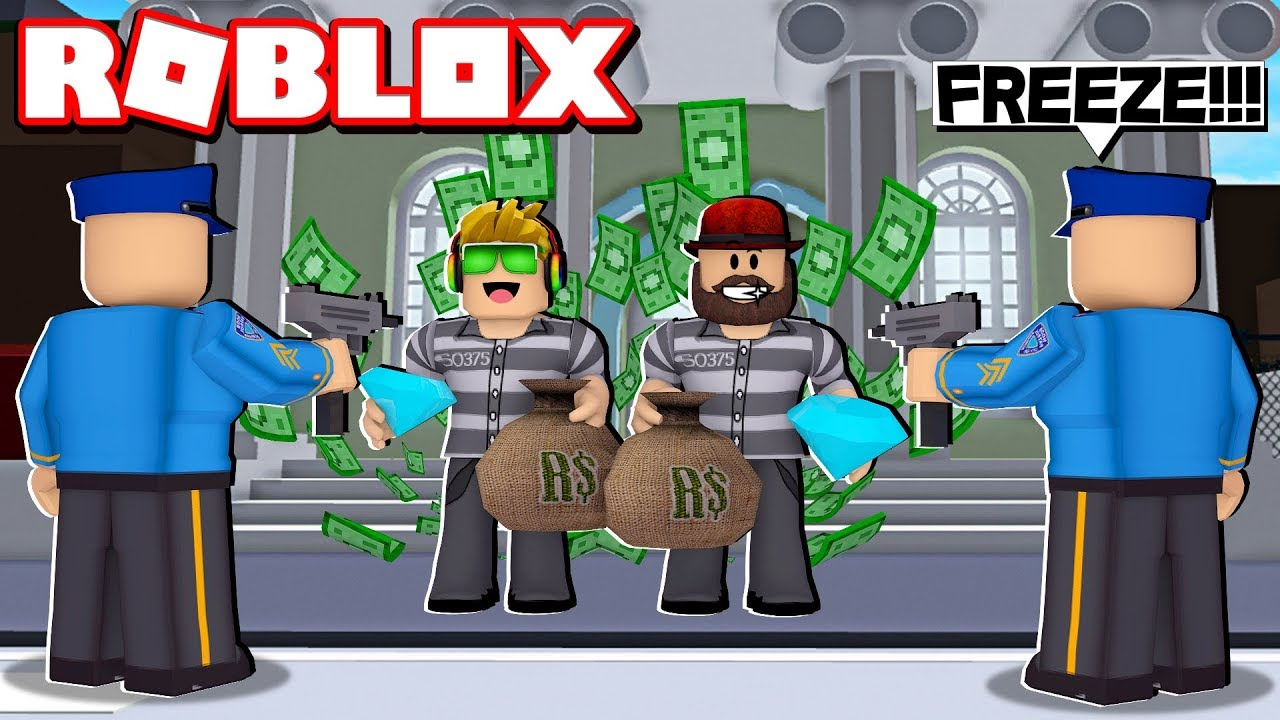 Crazy Bank Heist Obby In Roblox Trying To Rob 1 000 000 Dollars