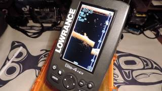 Lowrance Elite 4 HDI - DownScan Imagery