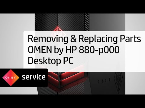 Omen by HP 880-p000 Desktop PC Series Teardown | HP Computers | HP