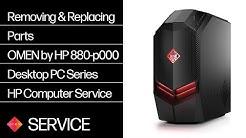Omen by HP 880-p000 Desktop PC Series Teardown   HP Computers   HP