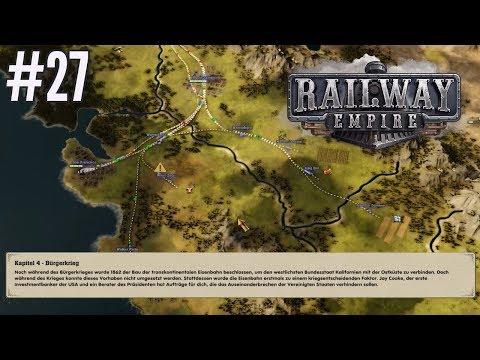 Let's Play Railway Empire Gameplay Deutsch [HD] Kampagne Kapitel 5 Sierra Nevada #27