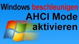 Windows schneller machen: AHCI Mode aktivieren und System beschleunigen