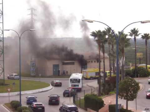 San Fernando/Bahia Sur - Explosion of transformer station