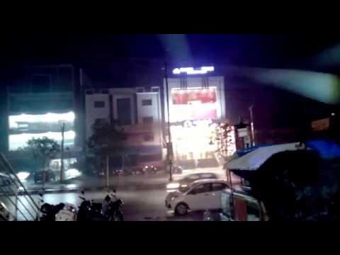 Heavy Rain at Hyderabad, India