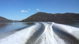 2008 Searay 185 Sport, cruising up the Hawksbury River in NSW