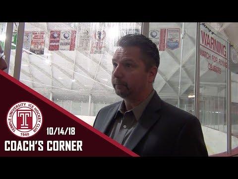 Coach's Corner   10/14/18
