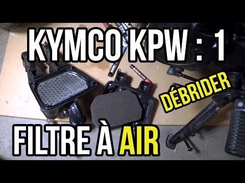 TUTO #1 :  K-PW 50   Débrider filtre à air (et Mini 4t)