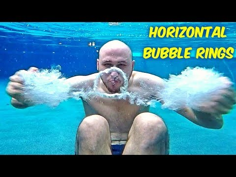 Thumbnail: How To Make Horizontal Bubble Rings Underwater?