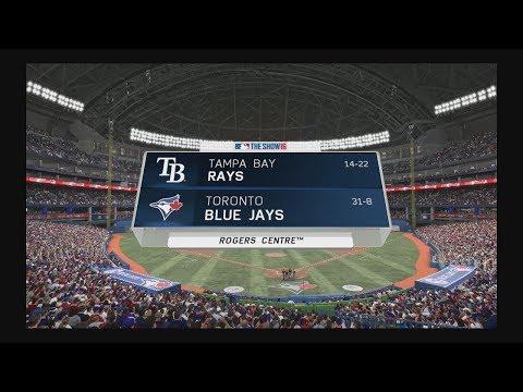 MLB 16 The Show - Blue Jays franchise -  Rays Vs. Blue Jays  - (17)