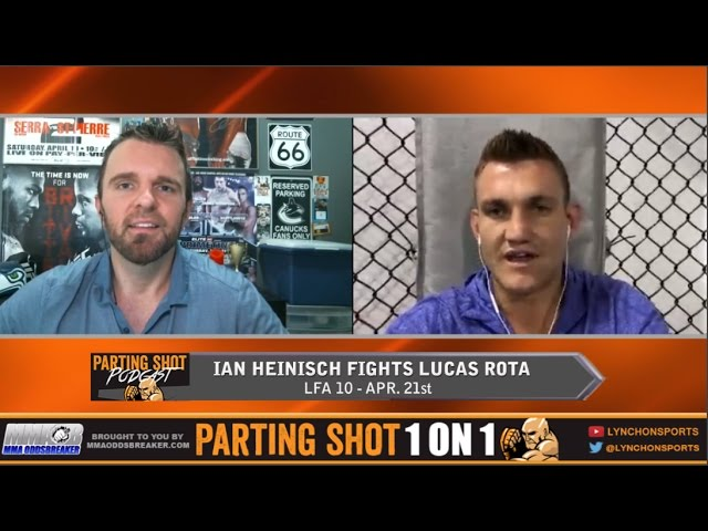 """LFA 10's Ian Heinisch """"I see this fight ending in the first round"""""""