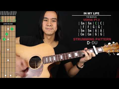 In My Life Guitar Cover The Beatles 🎸|Tabs + Chords|