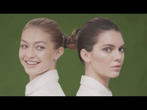 Thumbnail: Gigi Hadid Can't Keep a Straight Face on Set With Kendall Jenner | W Magazine