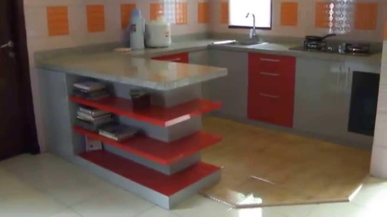 Kitchen set minimalis 2016 - Kitchen Set Malang Wa 08123 5082 100 Telkomsel Kitchen Set Minimalis Youtube