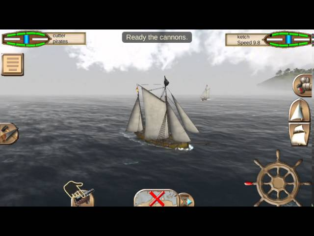 The Pirate Caribbean Hunt (by Home Net Games) - action game for android - gameplay.