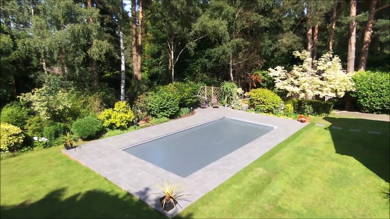 Future Pool Abdeckung Protect Aquamatic Safety Cover With Hidden Leading Edge Lid System Youtube