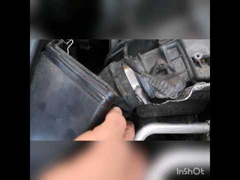Skoda Superb EGR valve locate and clean VW/AUDI/SEAT