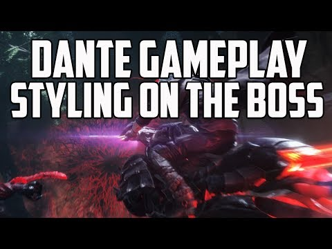 Devil May Cry 5 Boss Styling Gameplay Analysis