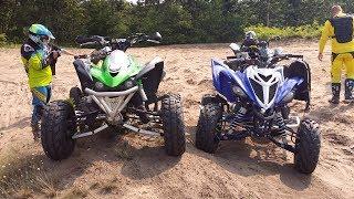 2018 Yamaha Raptor 700 - First ride on a new quad + Straz lesna zablokowala nam droge