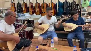 Ayaz Müzik ile bağlama çaldım.Murat Erol,Ali Pınar ve Adem Mert ELMAS
