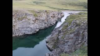 Каньон реки Байдаратаяха