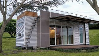 The Casa Cúbica Shipping Container Home   160 Sq Ft
