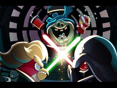 Энгри Бердс Звездные Войны Игрушки -  Unboxing Angry Birds Star Wars Toys