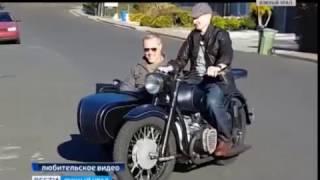 Оренбуржец подарил мотоцикл солисту 'Металлики'