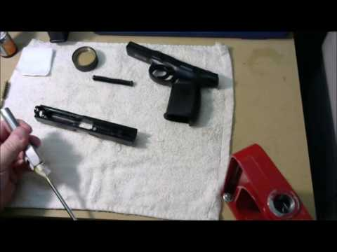 How To Field Strip & Clean The Smith and Wesson SW9VE - Smith & Wesson Sigma Series of Pistols