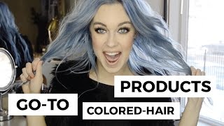My Favorite Hair Products for COLORED Hair    Sincerely Ariel