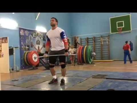 280kg/616lbs Deadlift - Dmitry Klokov - Powerlifting