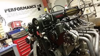 Dart LS Next 427 with 4.5 liter whipple supercharger from Performance Research and Carlyle Racing