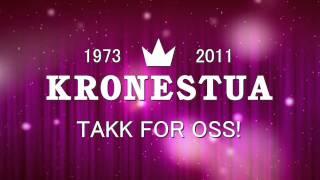 Kronestua - Takk for oss!