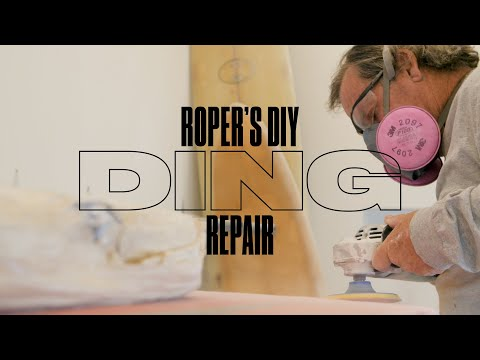 How To Fix a Buckled Surfboard | SURFER | Roper's DIY Ding Repair
