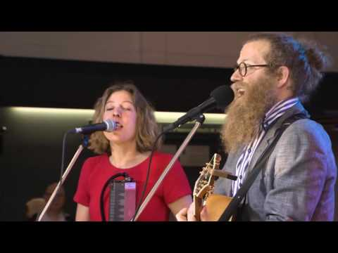 Ben Caplan & Taryn Kawaja perform Birds With Broken Wings