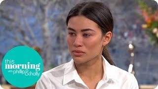Montana Brown Speaks About Her Friend Mike Thalassitis   This Morning